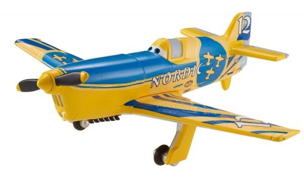 Disney Planes Gunnar Viking No. 12 Diecast Aircraft