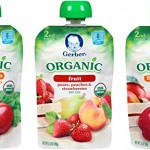 Gerber Organic 2nd Food Pouches 18-Count Pack as low as $15.31!