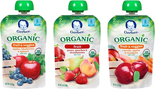 Gerber Organic 2nd Food Pouches