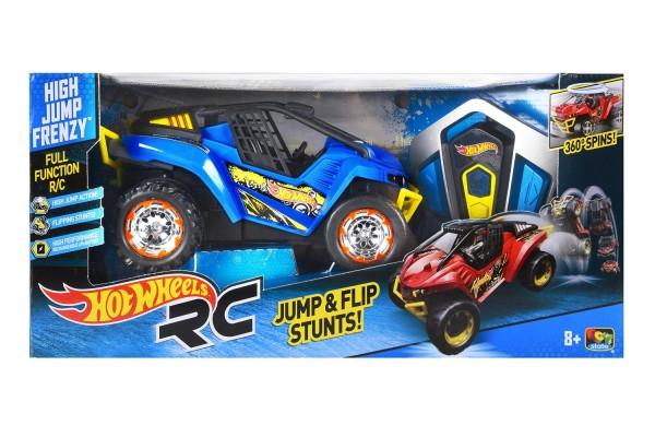Hot Wheels-High Jump R-C Body Blue Radio Control Vehicle