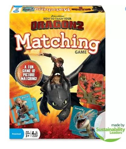 How To Train Your Dragon 2 Matching Game