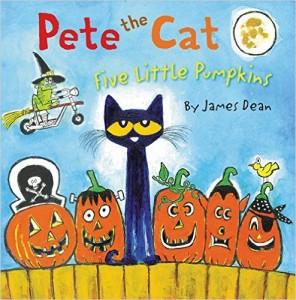 Pete the Cat: Five Little Pumpkins Book Only $6.29!