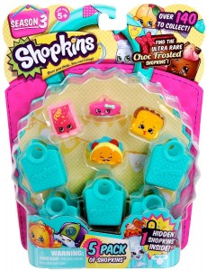 Shopkins Season 3 5-Pack Only $4.16! Best Price!