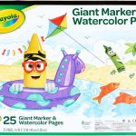 Crayola Giant Marker & Watercolor Pad Only $3.99 (Was $8)!