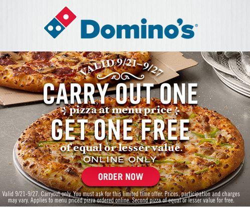 dominos bogo free