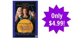 Hocus Pocus on DVD Only $4.99!
