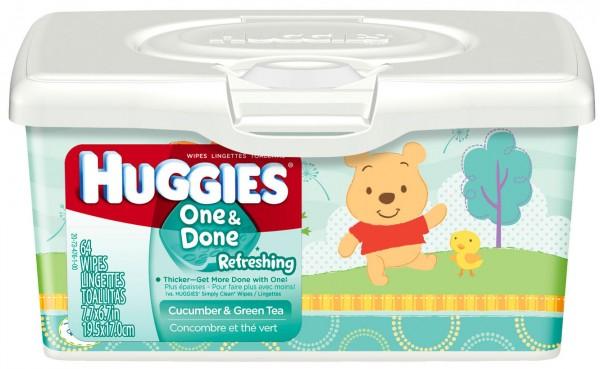 huggies one & done wipes