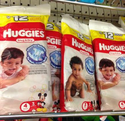 huggies snug & dry 3-count packs