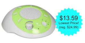 myBaby SoundSpa Portable Just $13.59! (lowest price)