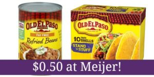 Meijer: Old El Paso Products Only $0.50!