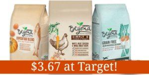Target: Purina Beyond Pet Food as low as $3.67!