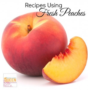 Over 15 Recipes Using Fresh Peaches!