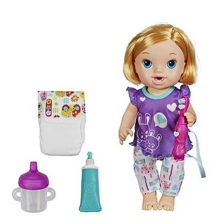 Baby Alive Brushy Brushy Baby Doll Only 14 21 Become A