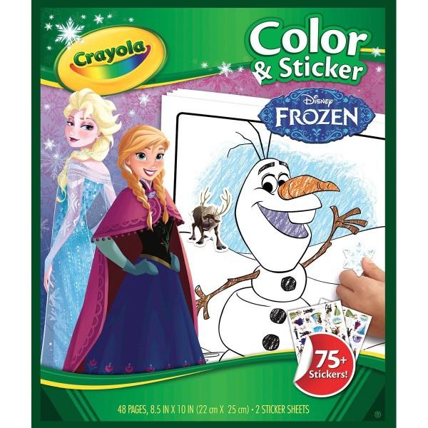 Crayola Frozen Color & Sticker Books