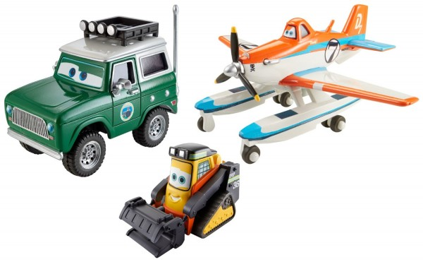 Disney Planes Fire and Rescue Die-Cast Toy (3-Pack)