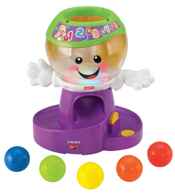 Fisher-Price Laugh & Learn Count and Color Gumball Machine