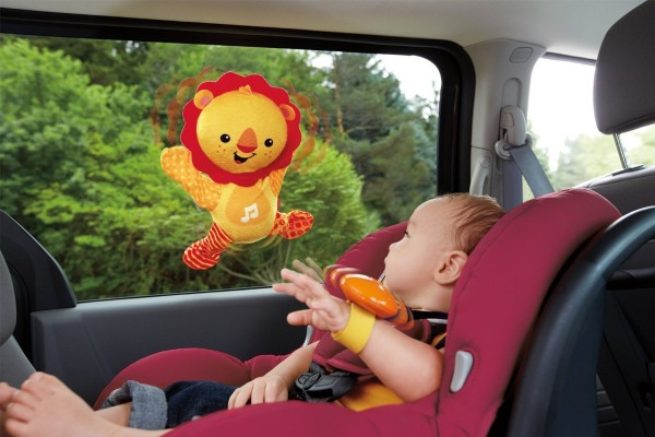 Fisher-Price Roar 'n Ride Lion Toy