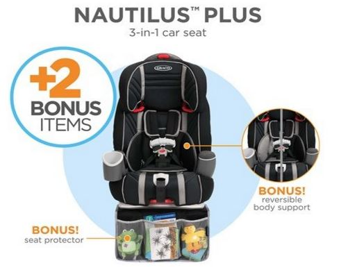 Graco Nautilus PLUS 3-in-1 Car Seat