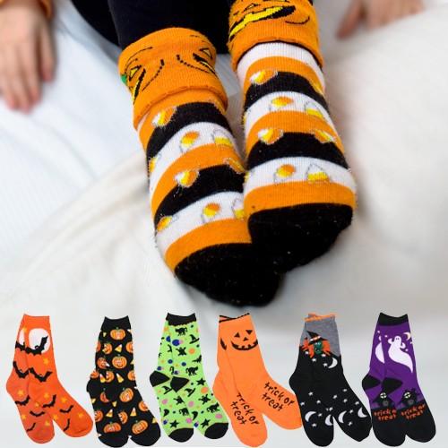 Halloween Socks 6-Pack