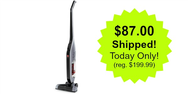 Hoover Linx Cordless Stick Vacuum Cleaner 87 Today Only