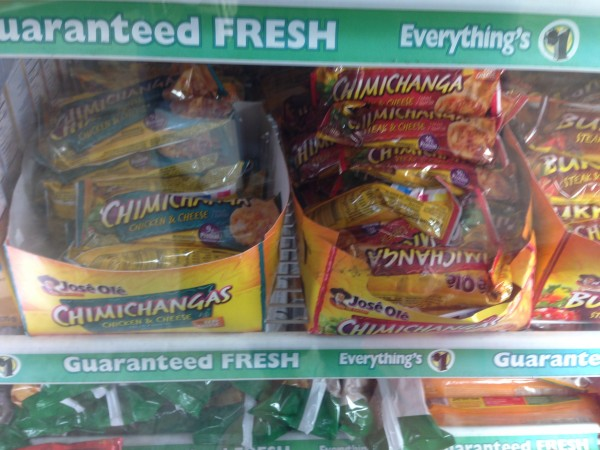 jose ole chimichangas or burritos dollar tree
