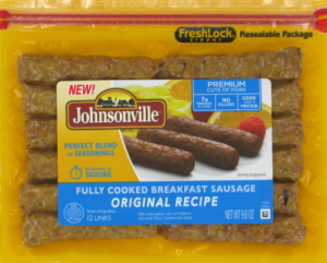 FREE Johnsonville Breakfast Sausage at Kroger!