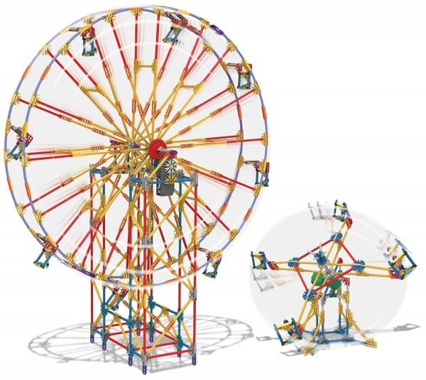 K'NEX 2-in-1 Ferris Wheel Building Set