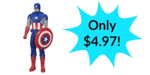 Captain America Figure, 12-Inch – Only $4.97!
