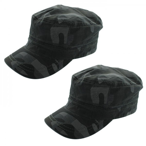 Military Style Camouflage Cadet Cap