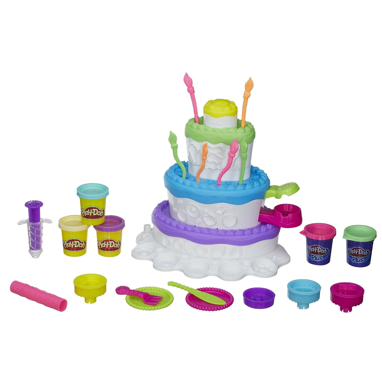 Play Doh Sweet Shoppe Cake Mountain Playset Only 8 68