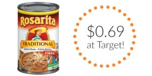 Target: Rosarita Refried Beans Only $0.69!