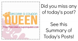 Don't Miss the Deals! See this Summary of Today's Posts!