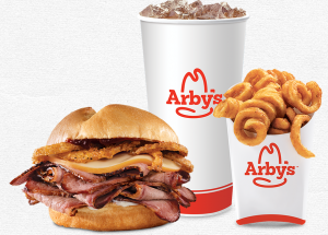 FREE Small and Drink With Purchase Of Smokehouse Brisket Sandwich at Arby's!