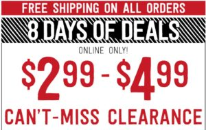 Crazy 8 Super Clearance Sale – PSA $2.99 + FREE Shipping! Today Only!