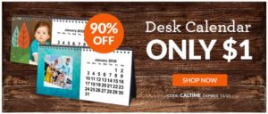 Custom Desk Calendar Only $1 + shipping! (reg. $9.99)