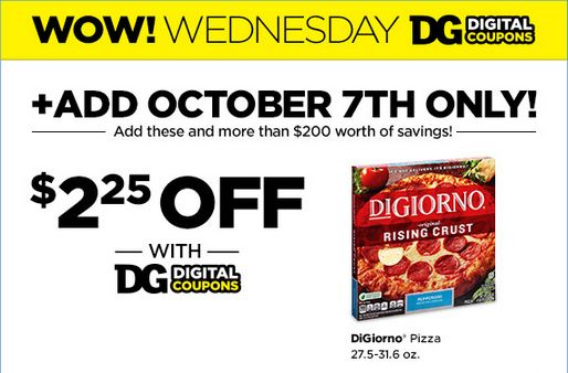 dg digital coupon