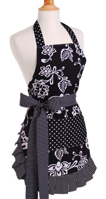 flirty aprons sale sassy black apron