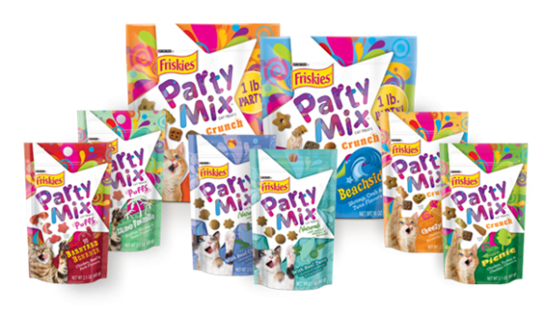 friskies party mix cat treats