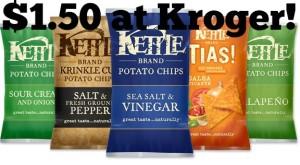 Kroger: Kettle Brand Chips Only $1.50!