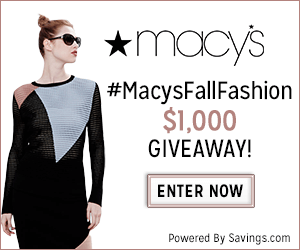 Enter to Win a $50 Macy's Gift Card! (20 winners) #MacysFallFashion
