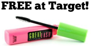 High Value $3/1 Maybelline New York Mascara Coupon – FREE at Target!