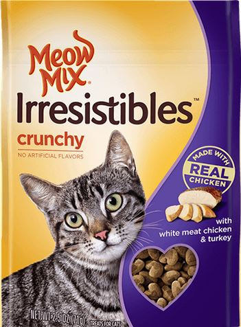meow mix cat treats