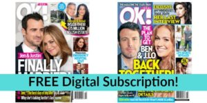 FREE OK! Magazine Digital Subscription!