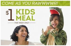 $1 Kids Meals at Olive Garden!