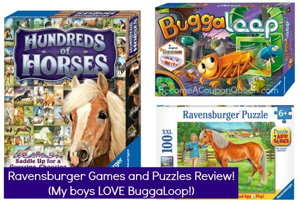 ravensburger puzzles and games review