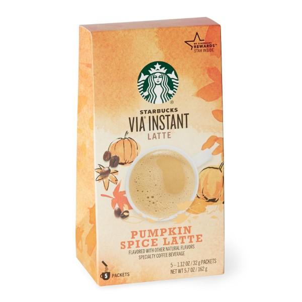 starbucks via pumpkin spice latte