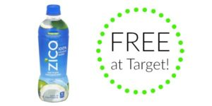 FREE Zico Coconut Water at Target!