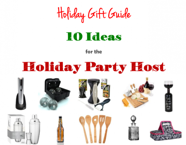 10 gift ideas for the holiday party host