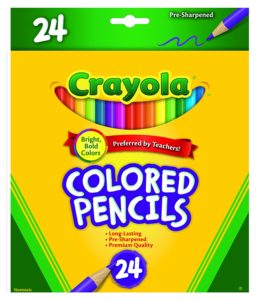 Crayola Colored Pencils 24 Count Only $3.94! Best Price!