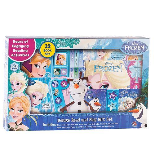 Disney's Frozen Deluxe Read & Play Set